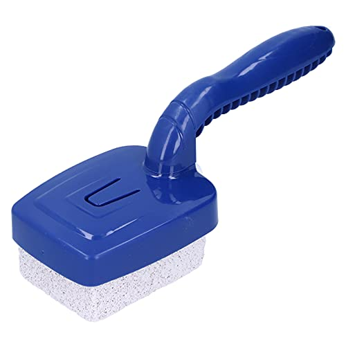 Cepillo de limpieza para piscinas con mango Herramienta de eliminación de pintura para baldosas de piscina reutilizable para limpieza