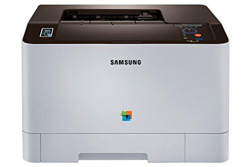 Samsung Xpress SL-C1810W/PLU Premium Line Farblaser-Drucker (WLAN, NFC und Google Cloud Print) schwarz/weiß