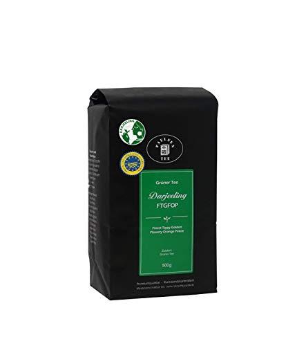 Paulsen Tee Grüner Tee Darjeeling FTGFOP 500g, rückstandskontrolliert & zertifiziert