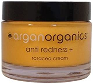 Arganorganics Anti Redness + Rosacea Cream: Completely natural solution for rosacea, also developed as anti aging treatment