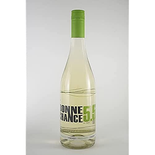 Bodegas López Morenas Bonne Chance Verdejo Frizante Vino Blanco - 6 Paquetes de 750 ml - Total: 4500 ml