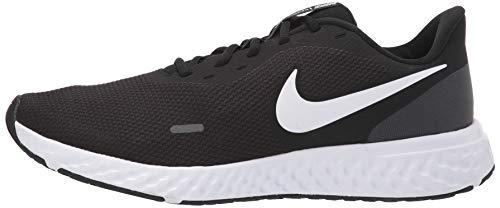 Nike Men's Revolution 5 Wide Running Shoe, Black/White-Anthracite, 8.5 4E US 2