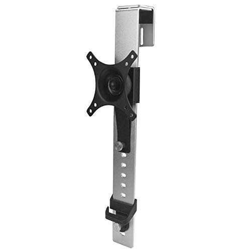StarTech.com ARMCBCL - Soporte de Montaje Monitor con Ajuste de Altura, Color Negro