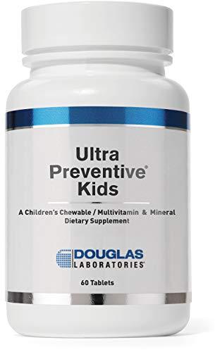 Douglas Laboratories - Ultra Preventive Kids - Children's Chewable MultiVitamin & Mineral - 60 Tablets - Orange Flavor