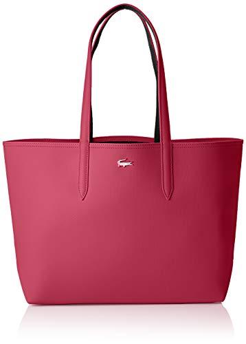Lacoste - Anna, Shoppers y bolsos de hombro Mujer, Rosa (