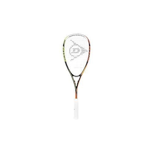 Dunlop Damen Squash Racket Tempo Pro HQ, Schwarz-Gelb-Orange, One Size
