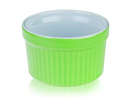 kela Tartelettes-Förmchen Lissi 200 ml Ø 9 cm Mini-Aufbackform Auflauf-Form Keramik-Schälchen pastellgrün Porzellan-Geschirr Küchen-Zubehör