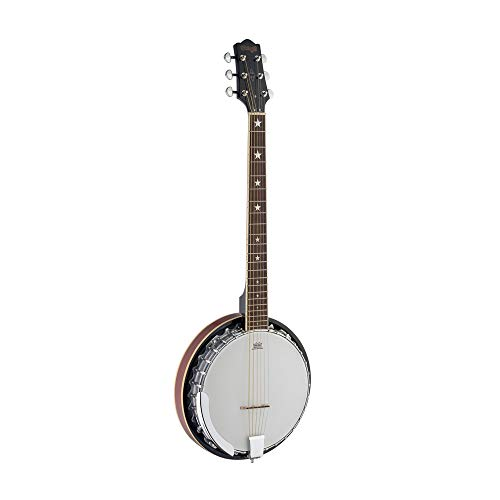 Stagg BJM30 G 6 String Gitarren Banjo Deluxe