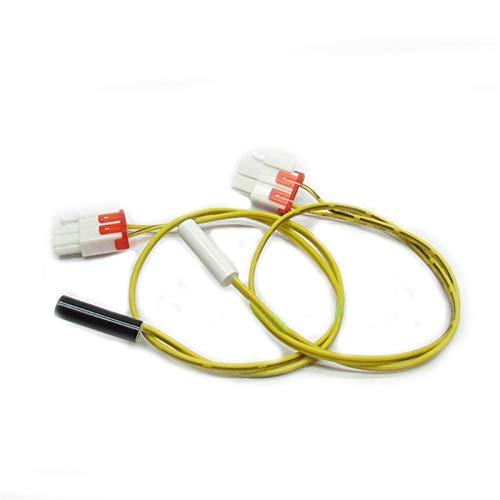 Lifeyz Fácil de reparación Reemplazo Frigorífico Sensor de Temperatura de sonda de desescarche 5k Sensor Sonda Parts Las Partes del refrigerador (Color : Yellow)