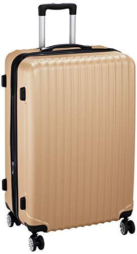 [アイダディ] 【idadi】軽量キャリーケース M6010 保証付 80L 70 cm 4.7kg M6011L-90 ゴールド