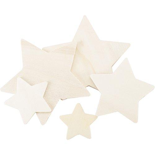 Wood Cutout Stars