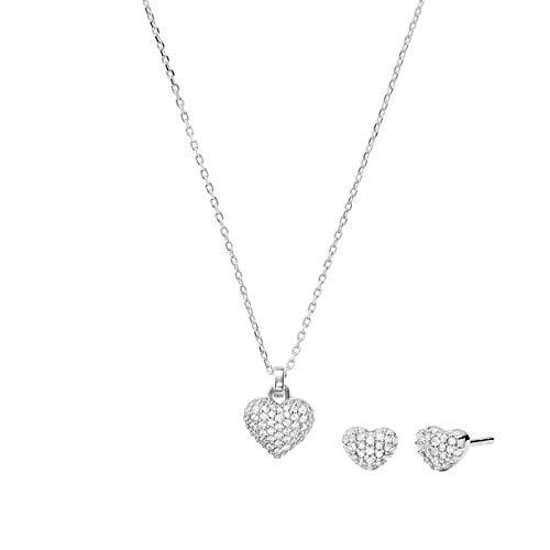 Michael Kors Damen-Schmuck-Set Set 925er Silber One Size Silber 32011994