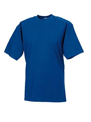 Russell Collection - T-shirt - - Manches courtes Homme - Bleu - Blue - Bright Royal - XXXXL