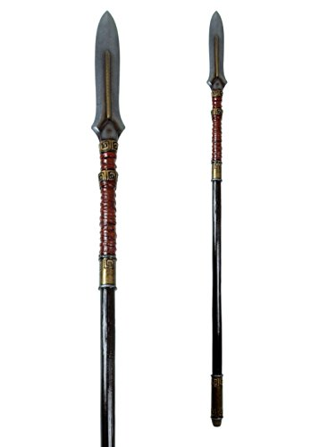 Epic Armoury LARP Antiker Speer LARP-Waffe ca. 190 cm aus Schaumstoff Polsterwaffe Fantasy Krieger Hexer Speer Mittelalter Schaukampf Wikinger