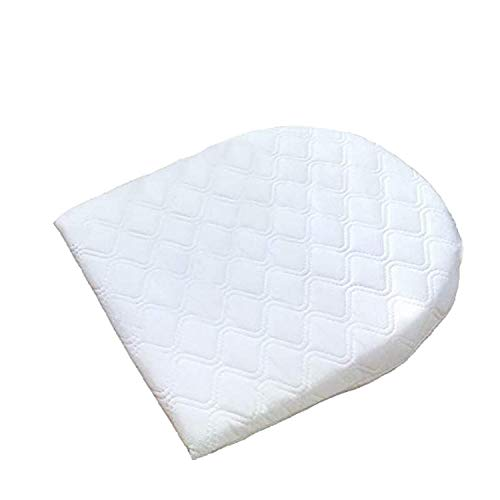 Ease-n-Comfort Baby Wedge Pillow - Relieves Acid Reflux, Colic, Congestion for Infant & Newborn - Safe Sleep Back Support Pillows - Bassinet Pram Moses Basket Stroller Crib Cot Bed - Removable Cover