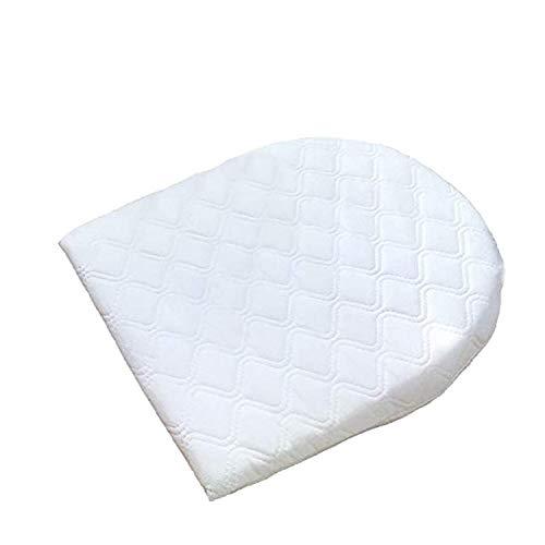 Muitar Almohada de cuña para bebé para sueño de reflujo, para bebé, recién nacido cólico y congestión, cuna universal para cochecito, moisés, cesta