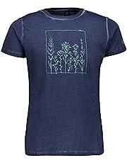 CMP T-Shirt Stretch Dyed Jersey Camiseta, Niñas