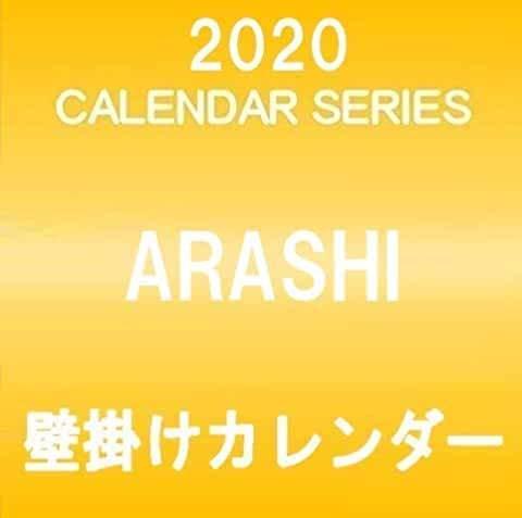 嵐 ARASI 二宮和也 2020 壁掛けカレンダー クリアファイル&ステッカー付き