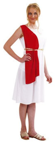 César - Disfraz de romano para mujer, talla 38 (B387-001)