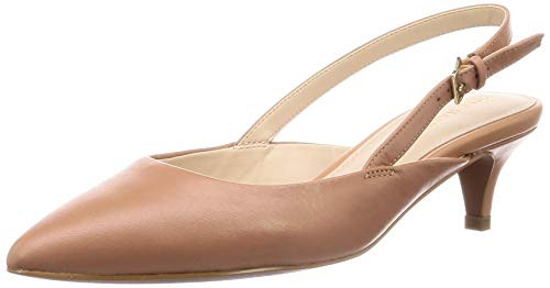 Cole Haan Harlow Slingback Pump Camel Leather 7.5