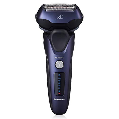 Panasonic ARC3 Electric Razor for Men with Pop-Up Trimmer, Wet Dry 3-Blade Electric Shaver with Intelligent Shave Sensor and 12D Flexible Pivoting Head – ES-LT67-A (Blue)