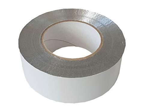 Aluminium plakband 50mms breedte 1m / met lijm gemaakt van puur acrylaat