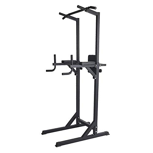 Lucky Tree Power Tower Pull Up Dip Station Exercise Equipment
