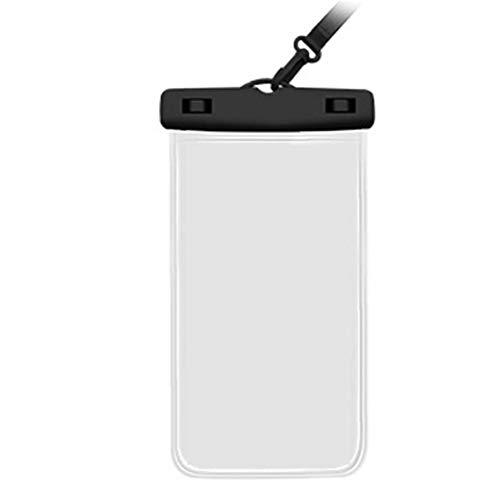 WFIT Impermeable del Teléfono Carcasa Estanca Bolsa del Teléfono Móvil Touchable Bolsa con Correa para La Natación Lloviendo a Prueba De Polvo