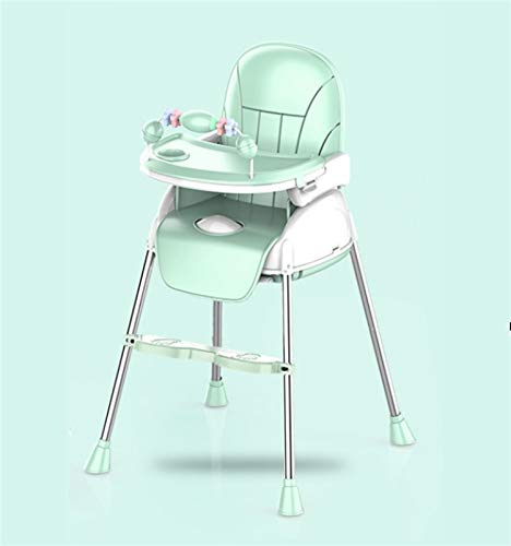 ZHSGV High chair dining chair multifunctional children eating table baby dining table portable folding suitable home seat child bb stool (Size : 3)