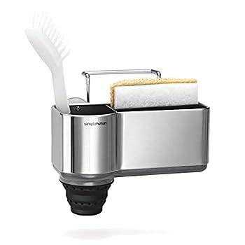 simplehuman Sink Caddy Sponge Holder Brushed Stainless Steel