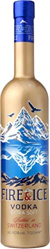 Fire&Ice Swiss Vodka Filtered With Genuine Gold Extra Soft 1x70Cl 40%