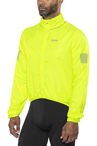 Northwave Vortex Fahrrad Wind/Regenjacke gelb 2022: Größe: M (48)