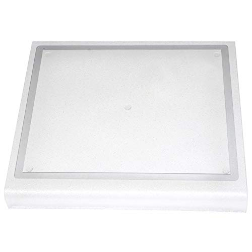 """Kitchen Kare Acrylic Cutting Board with Counter Lip & Juice Groove, 13.5""""L x 15""""W"""