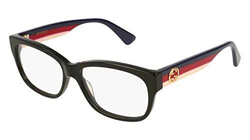 Brillen Gucci GG0278O BLACK Damenbrillen
