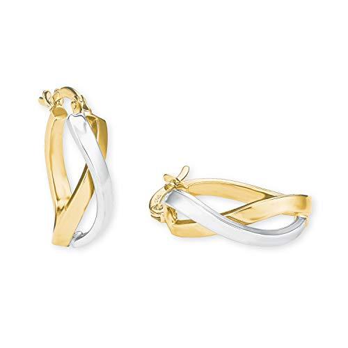 amor Creolen für Damen, Gold 585