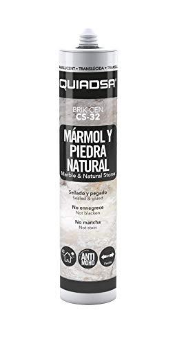 Quiadsa 52501890 Silicona Especial Mármol y Piedra Natural, 300 ml