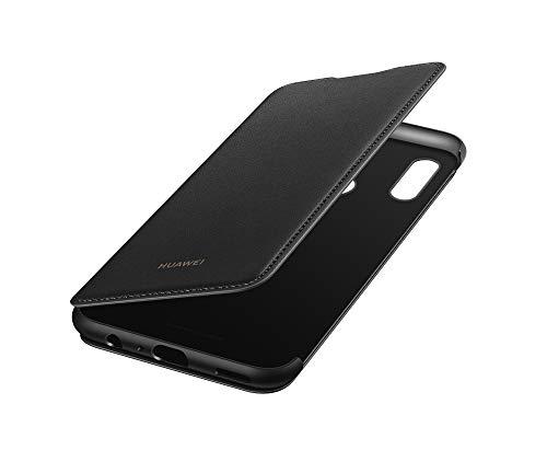 Huawei 51992977 - Custodia Originale Pieghevole per Smartphone P Smart+ 2019, Nero