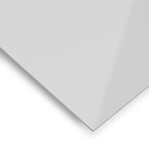 Metacrilato translúcido Nieve - 60 x 50 cm x 3 mm