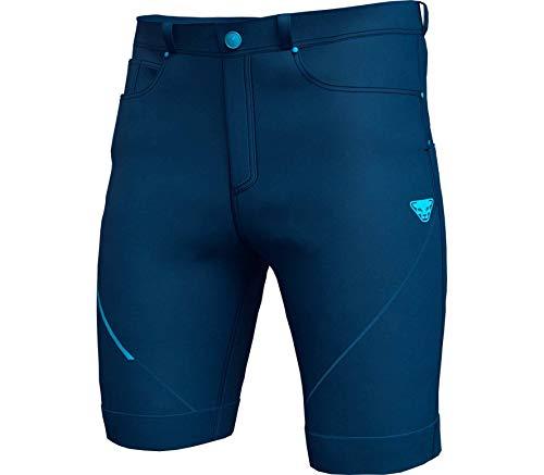 DYNAFIT M Transalper Dynastretch Jeans Shorts Blau, Herren Hose, Größe S - Farbe Poseidon