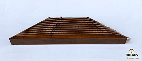 Persian sadeqi Santoor, Holzschläger, Dulcimer mit Hard Case