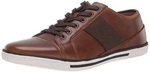 Unlisted by Kenneth Cole Men's Crown Sneaker, Cognac, 7.5