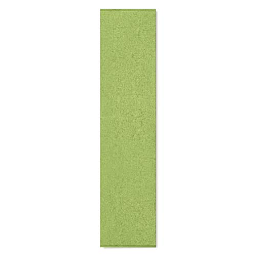 Happy Home Schiebevorhang PIA B/H: 60/245 cm halbtransparenter Flächenvorhang (grün)