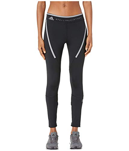 adidas by Stella McCartney Women's Run Long Tights EA2181 Black Large 25