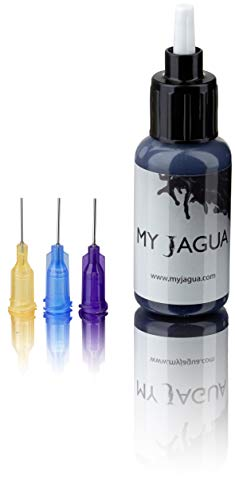 Jagua Gel 15 ml + 3 Aufsätze | temporäre blau-schwarze Tattoos | natürlich | Henna