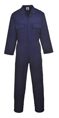 Portwest - Mono de trabajo polyalgodón Modelo EURO (S999) hombre/caballero - Ropa de trabajo (2XL x Regular/Azul )
