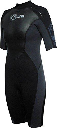 Sola Women's 3/2 wetsuit Ignite zwart