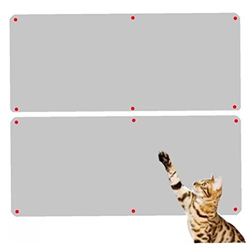 Froiny 2 Stücke Katze Scratcher Guard Cat Kratzer Beitrag Möbel Couch Sofa Protector Katze Schaber Abschied Tape Pad Teppichschutz