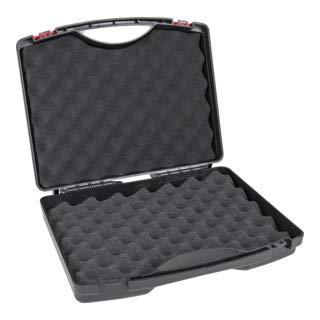 STIER Kunststoffkoffer PP m. Schaumstoffeinlage 280 x 230 x 82mm, Werkzeugkoffer, Gerätekoffer leer, Transportkoffer