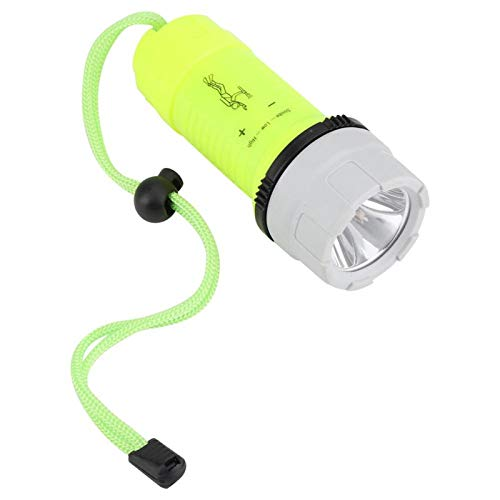 HaoZUyouxuankj Linternas LED de alta potencia linterna impermeable linterna alta brillante antorcha para buceo caza camping iluminación
