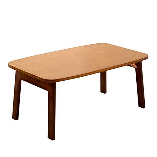 Kimmyer Bambus Klapptisch Couchtisch, Computertische, Klapptisch Bett Tablett, Kinder Aktivität Tisch, Picknick Tisch, für Wohnzimmer Balkon Tatami